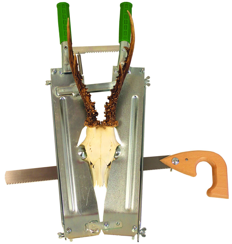 Trofésåg för sågning av rådjursskalle