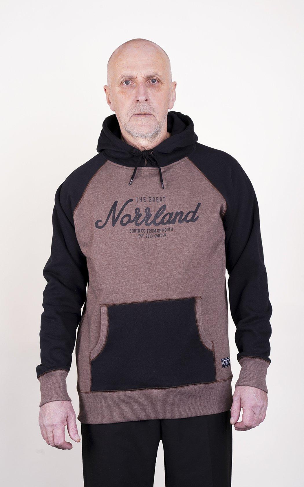 SQRTN Great Norrland Hood Brown 2-tones
