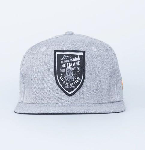 SQRTN Stock Cap Grey