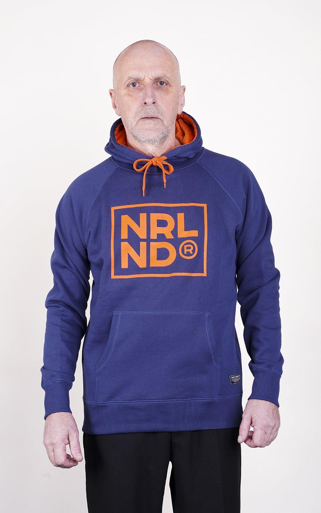 SQRTN NRLND Hood Dark Navy