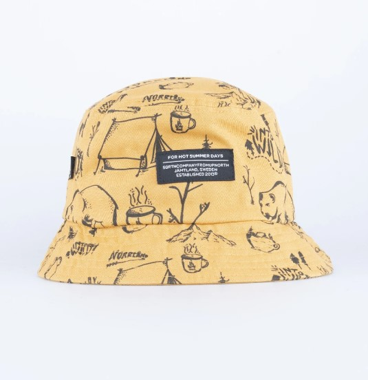 SQRTN Bucket Hat Into Mustard