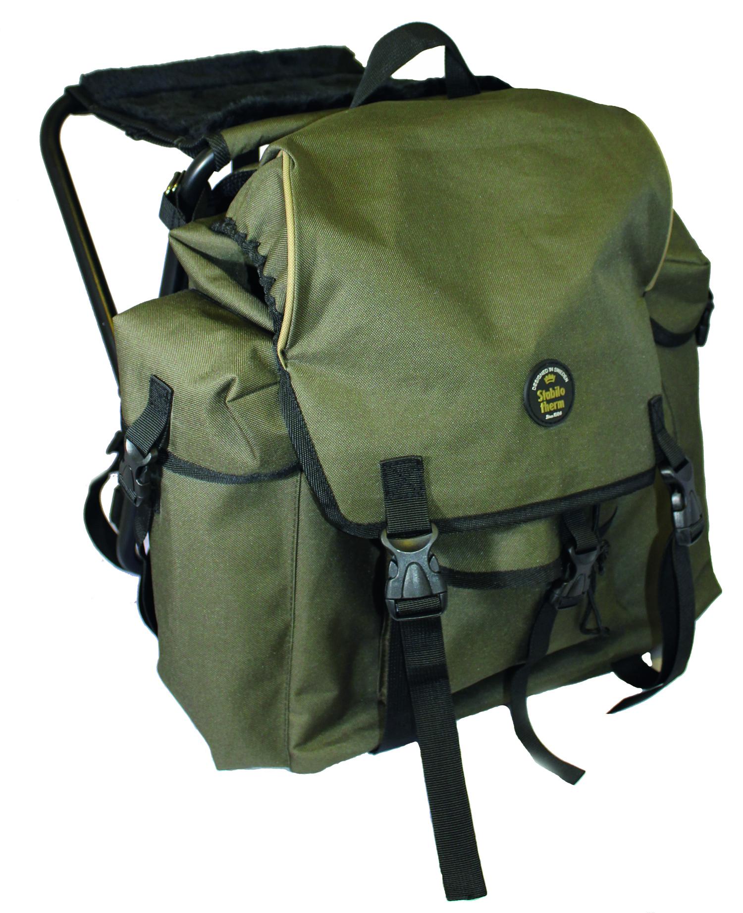 Black Moose ryggsäck med utfällbar stol | Maximal Fritid