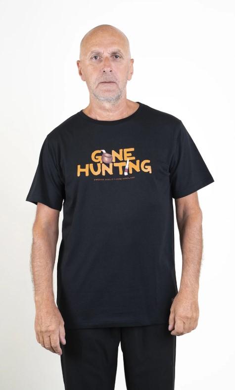 SQRTN Gone Hunting T-shirt Black UTFÖRSÄLJNING
