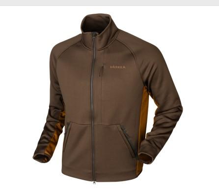 Härkila Borr Hybrid Fleece Slate Brown/ Rustique Clay