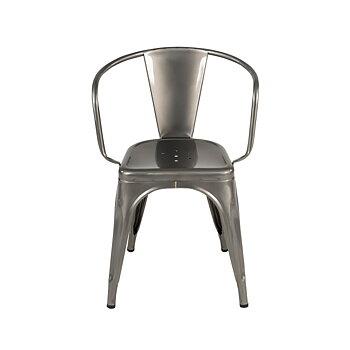 Tolix A56 stol , lackad metall-3 varianter