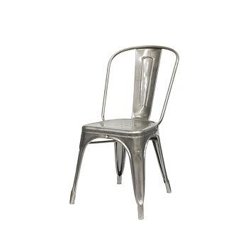Tolix stol A, galvaniserad för utomhus bruk ,2-pack
