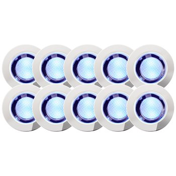 BRILLIANT LED-set COSA 30, 10-pack, Blå
