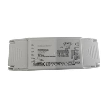 Multidriver 20W 250-700mA, DALI Push 1-10V