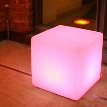 RGB LED Lampa Kub 40x40 cm