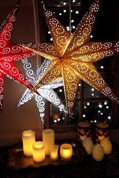 STAR TRADING Antique Stjärna Guld