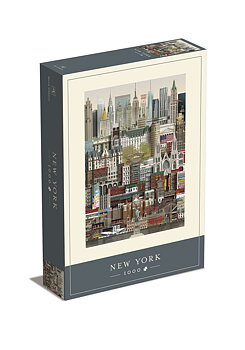 Jigsaw puzzle New York 1000 pieces - Martin Schwartz