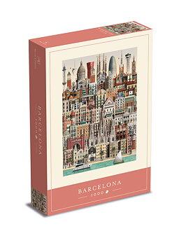 Jigsaw puzzle Barcelona 1000 pieces - Martin Schwartz