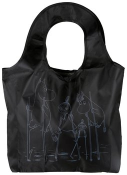 Moomin Shopping Bag Kampsu - River, black