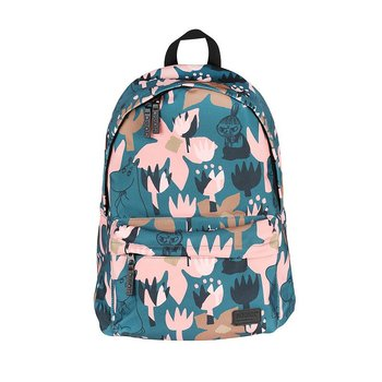 Moomin Nipsu Backpack Blooming, green