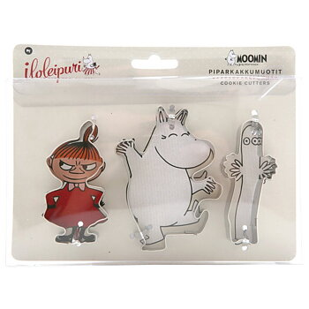 Moomin Family Cookie Cutter Set Little My