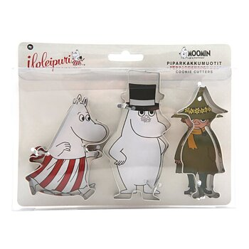 Moomin Family Cookie Cutter Set Moominmamma