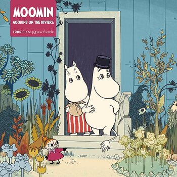 Moomin 1000-piece jigsaw - Moomins on the Riviera