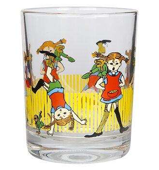 Pippi Långstrump drickglas, 2 dl