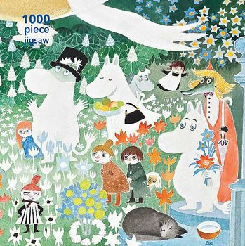 Mumin pussel 1000 bitar - The Dangerous Journey