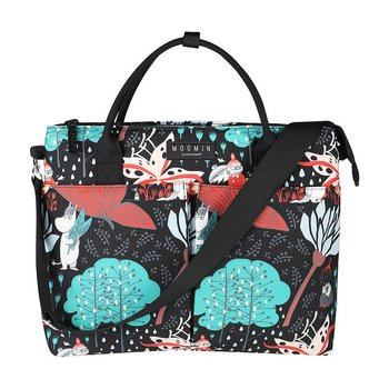 Moomin Niisku Bag Magic Forest, black