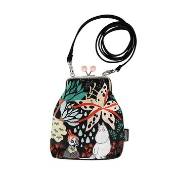 Moomin Vinssi Pouch Magic Forest, black