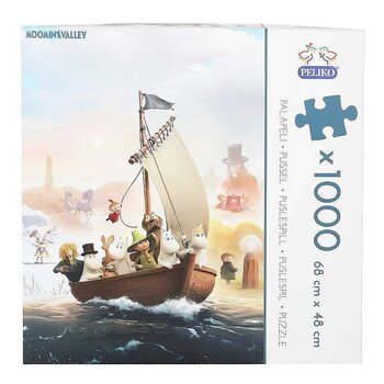 Moominvalley Jigsaw Puzzle 1000 pieces
