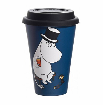 Mumin Take Away Mugg - Moominpappa Chilling