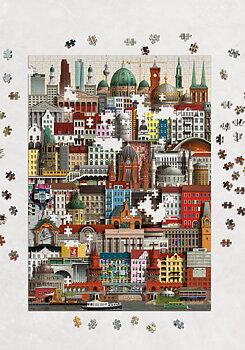 Pussel Berlin 1000-bitar - Martin Schwartz