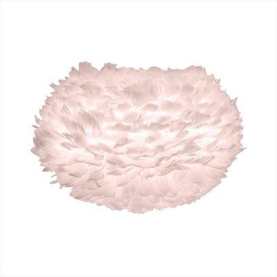 Liten Amanda VITA EOS taklampa 45 cm, gåsfjädrar, rosa