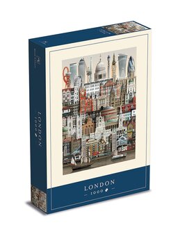 Jigsaw puzzle London 1000 pieces - Martin Schwartz
