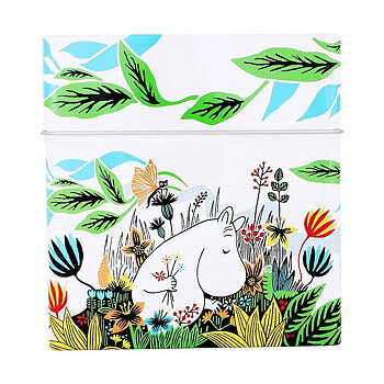 Moomin Meadow Coffee Filter Tin