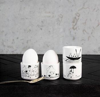 Äggkoppar Mumin 4-pack