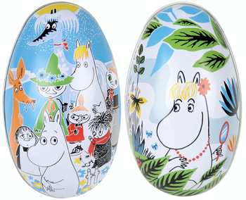 "Moomin Pastel Easter Egg Tin ""Summer Day"""