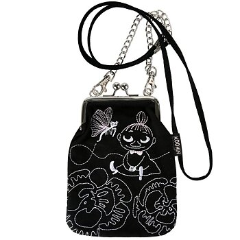 Moomin Vinssi Pouch with Chain - Little My