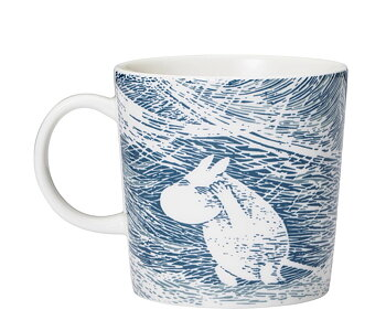 Arabia Moomin Mug Winter 2020 - Snow Blizzard