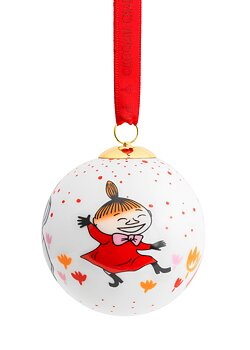 Porcelain Christmas tree ball - Little My