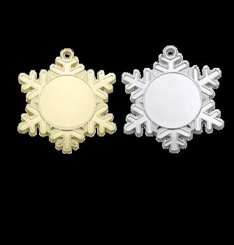 Medalj snöflinga 50 mm