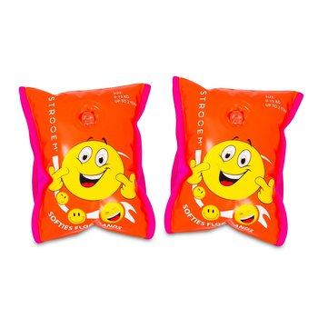 Softies Smiley's Float-bands (0-2 years) Orange-Pink