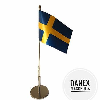 Bordsflagga Sverige, med fri frakt
