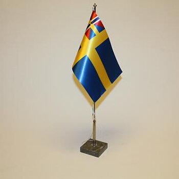 Unionsflagga Sverige med fri frakt
