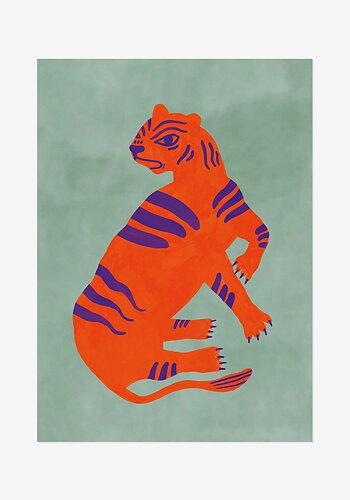 Poster, Agnes Florin, Tiger