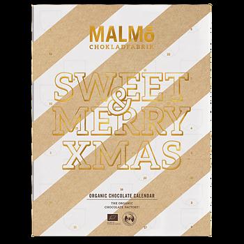 Malmö Chokladfabrik - Chokladkalender, Sweet & Merry Xmas!