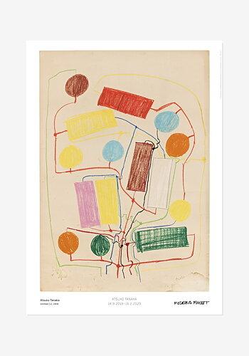 Poster, Atsuko Tanaka, Untitled (1)