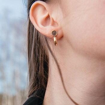 Satellite Golden Earrings