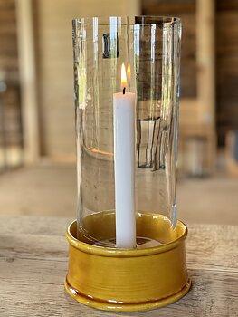 Carreaux- ljuslykta gul