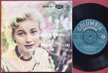 MONICA ZETTERLUND - Swedish sensation Norway EP 1958