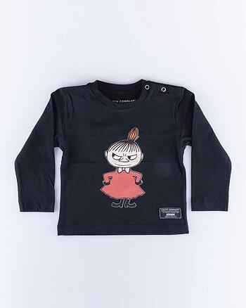 My Svart Kids LS T-Shirt