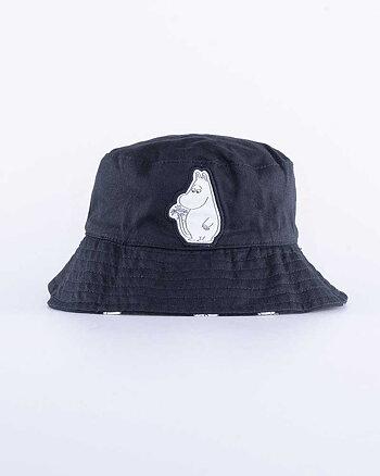 Mumintroll Kids Svart Bucket Hat