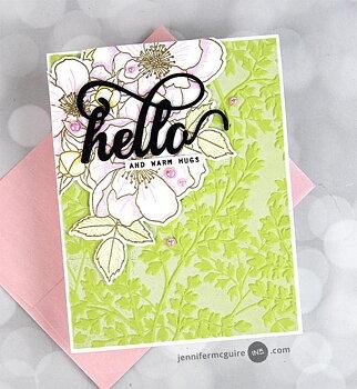 ALTENEW -Garden Harmony 3D Embossing Folder