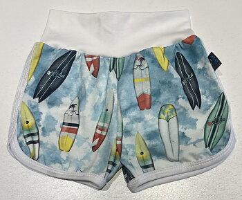 Tuffis-shorts Surfbrädor, 80